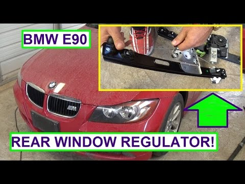 How to fix your bmw oil leak doovi for 2002 bmw 325i window regulator