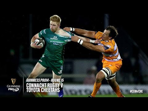 Guinness PRO14 Round 15 Highlights: Connacht Rugby v Toyota Cheetahs