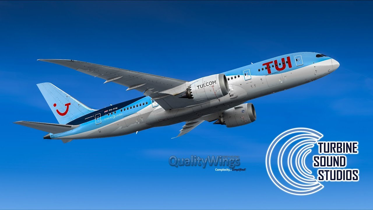 TSS - GenX with Qualitywings Boeing 787 - Preview
