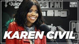Karen Civil talks Pusha T's Concert Attack, 6ix9ine's Federal Arrest + Last Convo w/Mac Miller