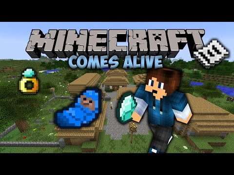 Get Married! | Minecraft Comes Alive | Minecraft Mod Showcase #14