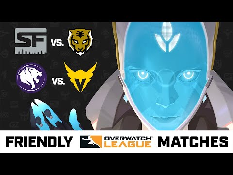 Overwatch League Friendly Matches Ft. Echo