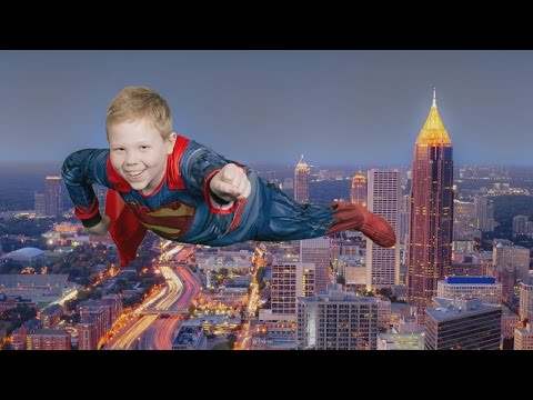 12-Year-Old Boy With Leukemia Gets Wish to Fly Like a Superhero