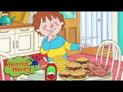 Horrid Henry - Henry's Feast | Cartoons For Children | Horrid Henry Episodes | HFFE