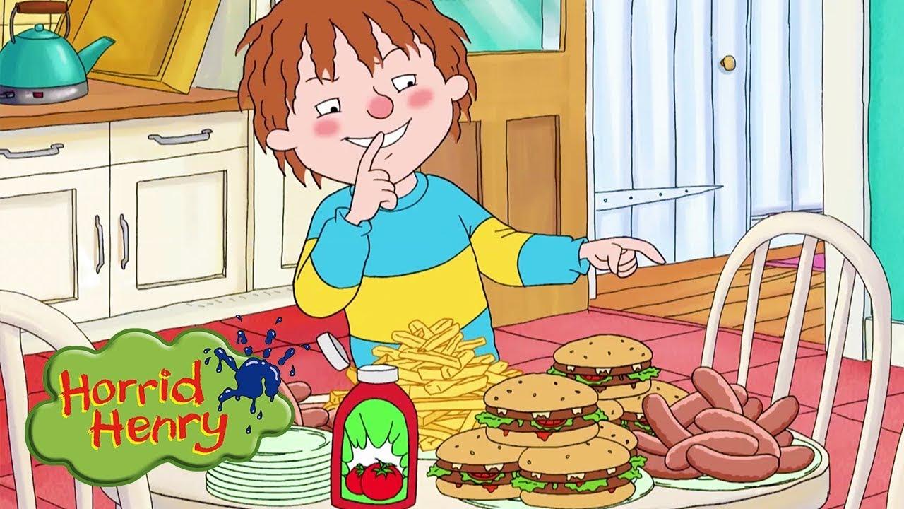 Download Horrid Henry - Henry's Feast   Cartoons For Children   Horrid Henry Episodes   HFFE