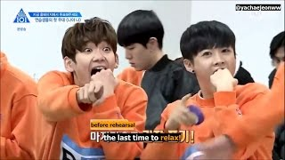 [ENG SUB] PRODUCE101 Season 2 EP.3 | the trainees' first stage rehearsal cut
