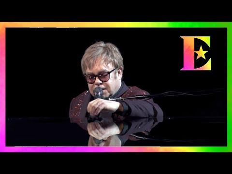 Elton John - Robin Gibb Dedication