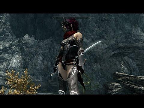 Tesv Skyrim Ninja Mods Youtube