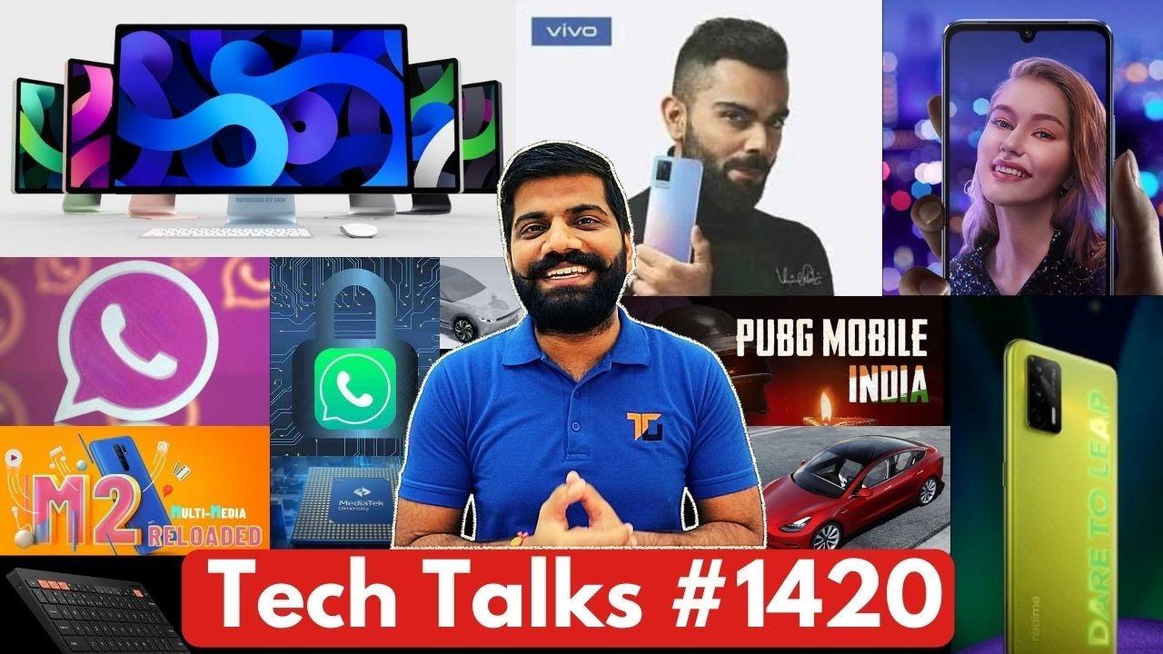 Tech Talks #1420 - Pink Whatsapp Scam, Galaxy A22 5G, PUBG New, Poco M2 Reloaded, V21 India, Q3 Pro