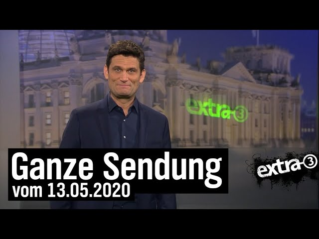 Extra 3 vom 13.05.2020 mit Christian Ehring | extra 3 | NDR