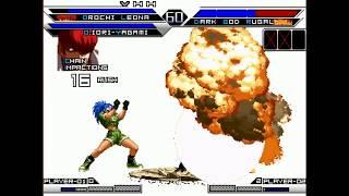 Mugen Theory Mercenary-Team orochi blood vs Chars poderosos-Mugen Raams
