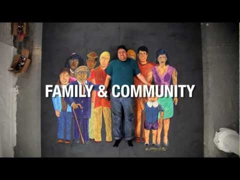Anthony Cappetto: 'Family & Community' Chalk Art Intro