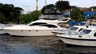 Dermaga pantai marina Ancol