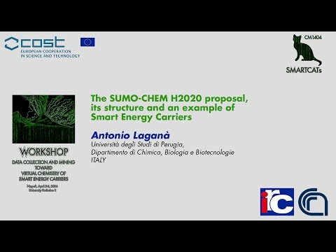 The SUMO-CHEM H2020 proposal, its structure and an example of Smart Energy Carriers