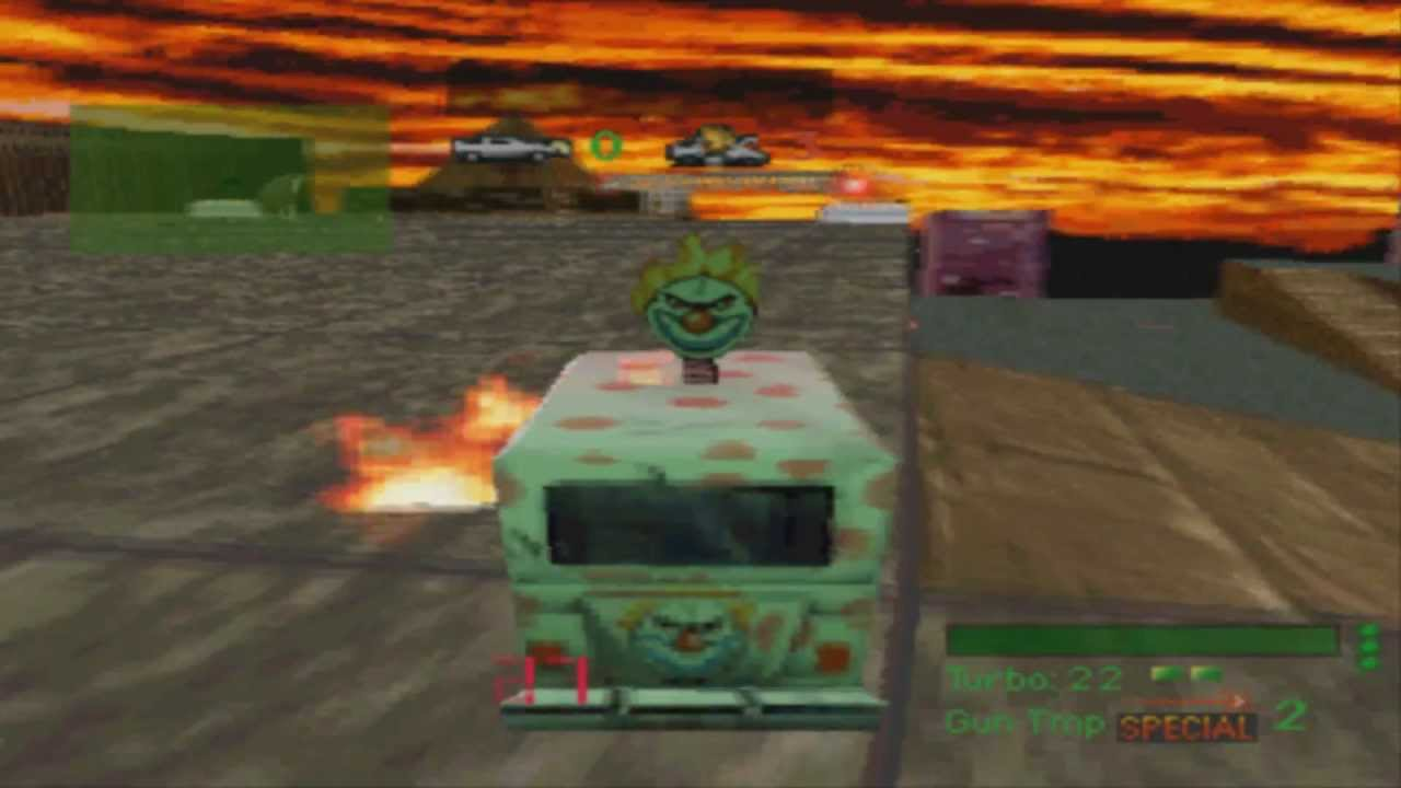 Twisted Metal Playstation 1995