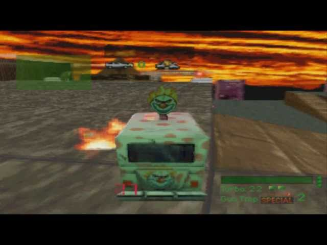 Twisted Metal (PS1) Gameplay