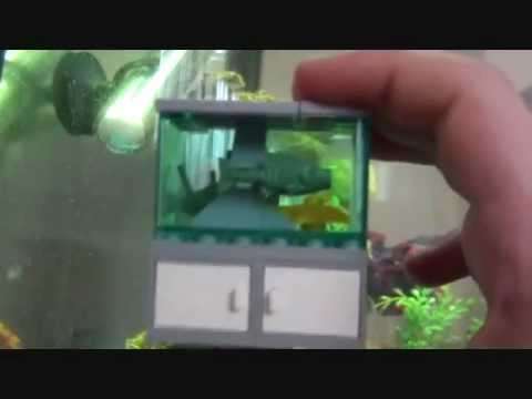 My Lego Fish Tank Contest Entry Youtube
