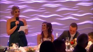 Funny Maid Of Honor Speech... Best Friend's Wedding.
