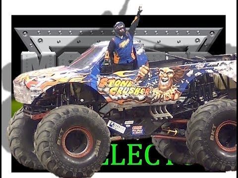 Monster Jam - Steve Sims - Stone Crusher - 2017 Pit Party - Indianapolis
