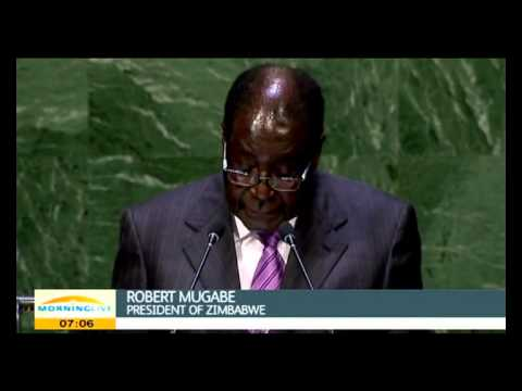 Mugabe again blasted Western powers