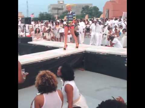 Kia Renee Hamptons in Houston Fashion Show