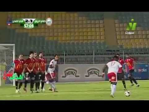 Free kick goal by Emeka Eze in Egypt Premier League