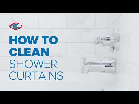 Clorox® How-To : Clean Shower Curtains