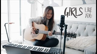 Download Lagu Girls Like You - Maroon 5 ft. Cardi B (Loop Cover) Mp3