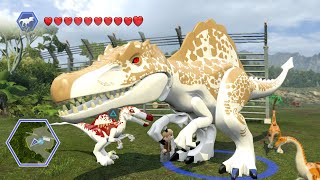 Lego Jurassic World - HYBRIDS! ( Free Roam GamePlay ) thumbnail