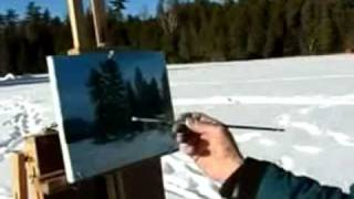 Extreme painting in Grand Marais