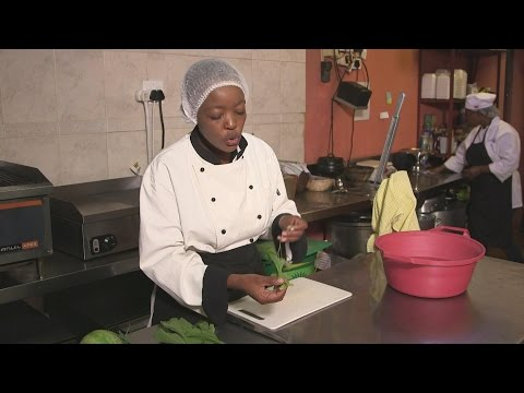Faces of Africa - Ska Moteane: Chef from the mountain kingdo