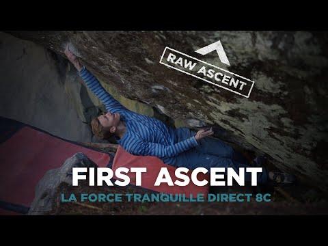 Jakob Schubert - Force Tranquille Direct (First Ascent)