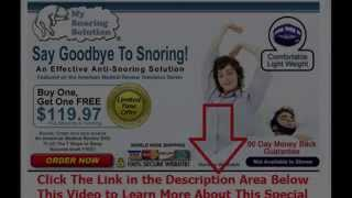 best stop snoring spray | Say Goodbye To Snoring