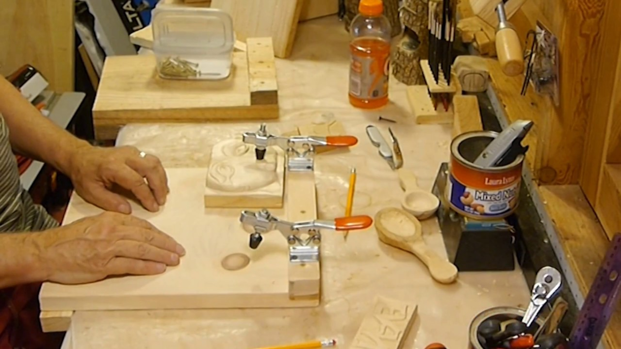 Making A Wood Carving Bench Hook Bird Youmans Youtube