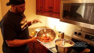 How To Cook Chicken Wings - Hackett Hot Wings Style