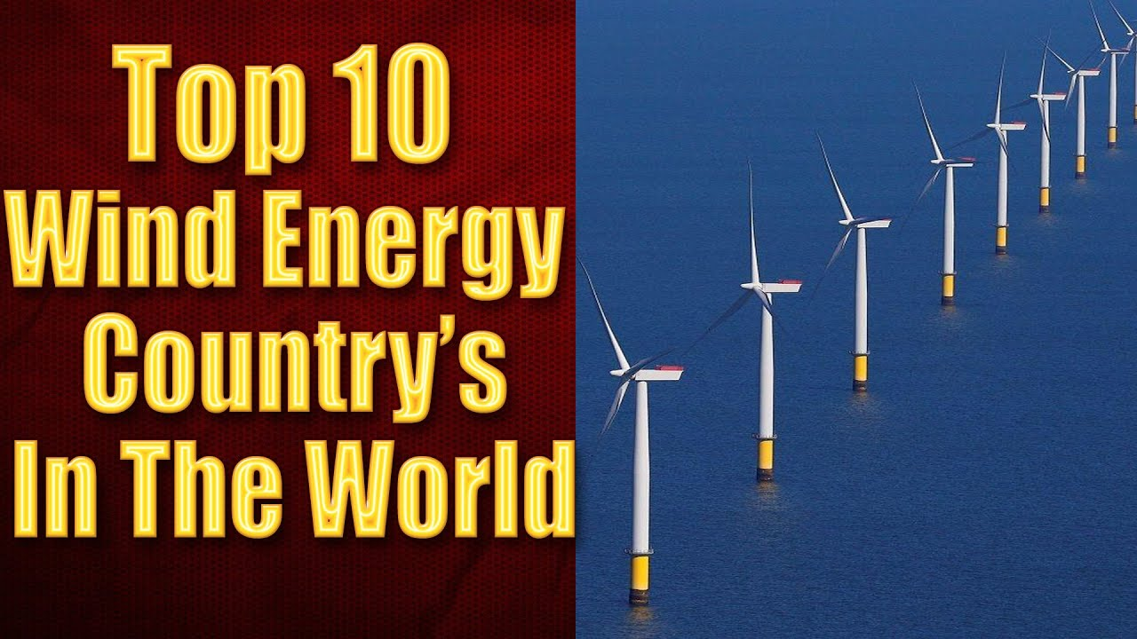 Top 10 Countries by Wind Energy