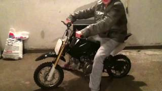 Got my first coolster 70cc PIT BIKE!!!!!!!