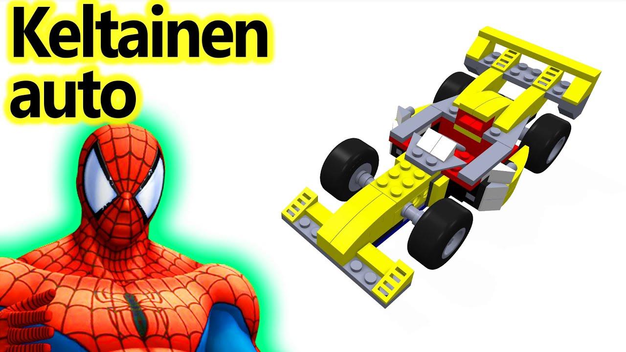 Lasten Lego Keltainen Auto Videot Spiderman Youtube
