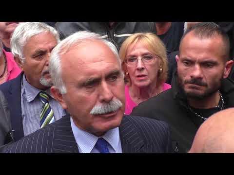 """Montecitorio, il presidio del generale Pappalardo: """"Via gli abusivi dal Parlamento"""""""