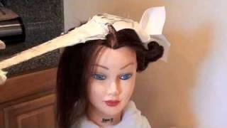 COSMETOLOGY: color 10:  1-2: Demo: Virgin Tint To Darken Partially Gray Hair