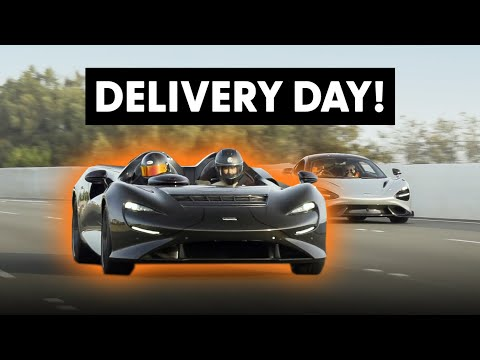 Taking Delivery of TWO New McLarens