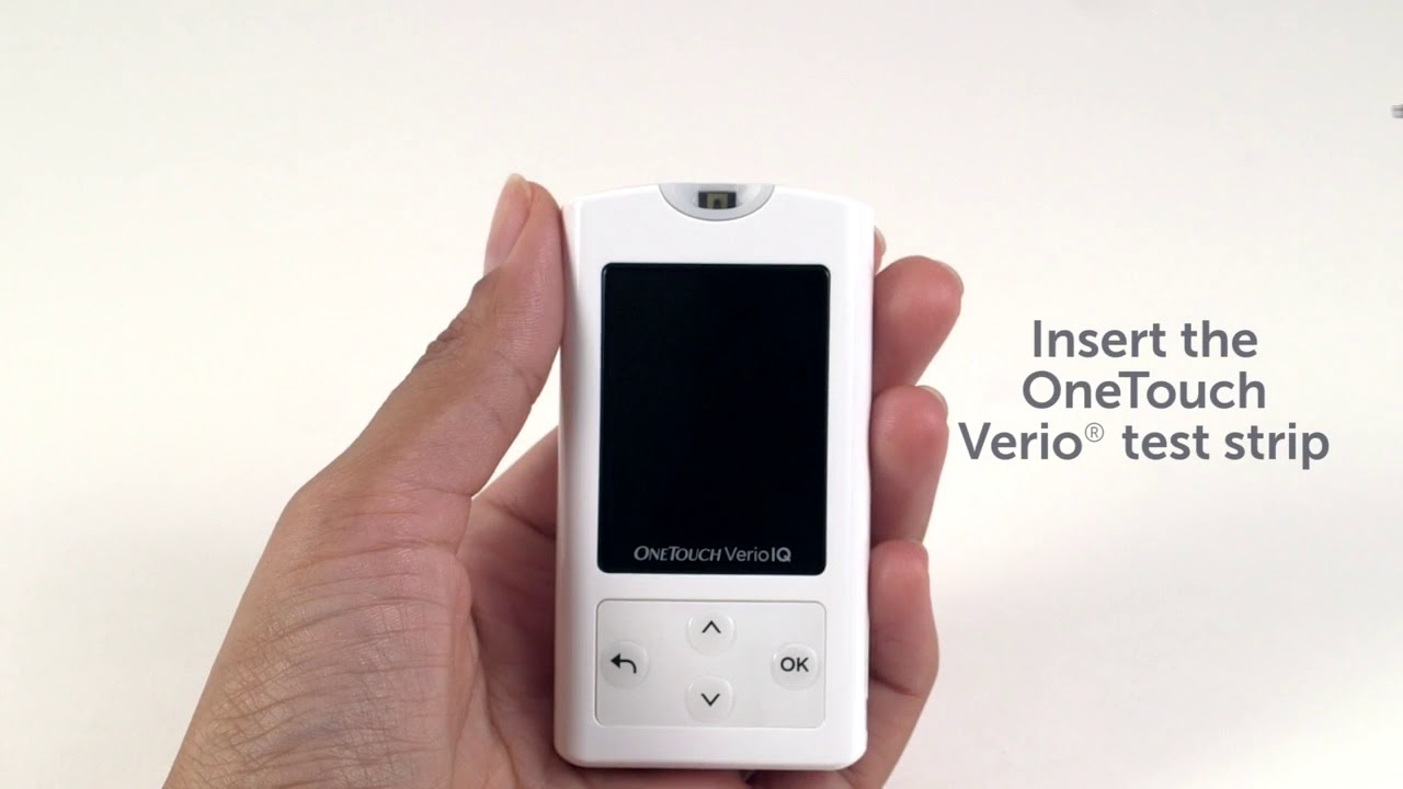 Verio®IQ Blood Glucose Meter | OneTouch®