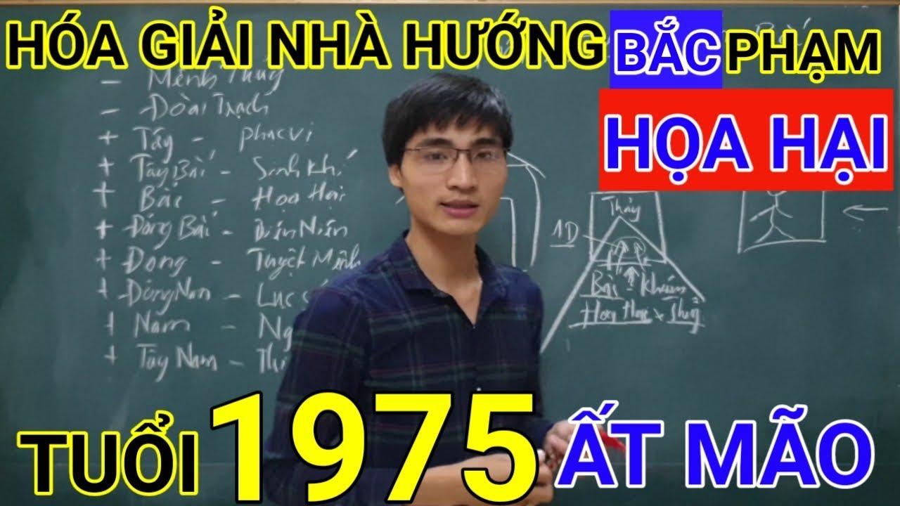 Tuổi Ất Mão 1975 Nhà Hướng Bắc | Hóa Giải Hướng Nhà Phạm Họa Hại Cho Tuổi At Mao 1975