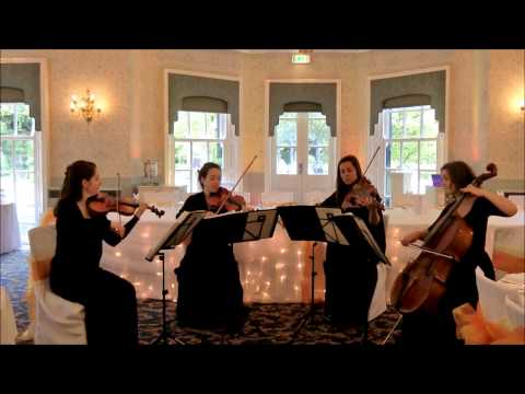 Wedding String Quartet Canon in D major Johann Pachelbel