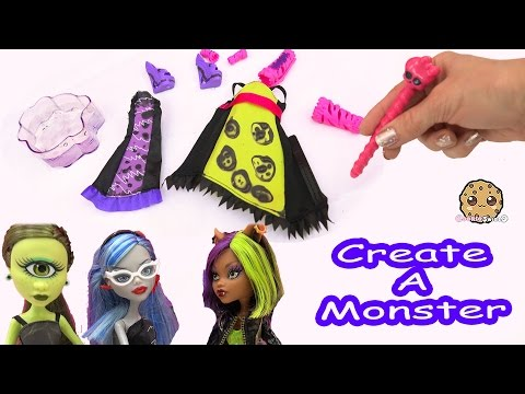 Create A Monster CAM Pack Playset Water Color Change Color Me Creepy Werewolf Set