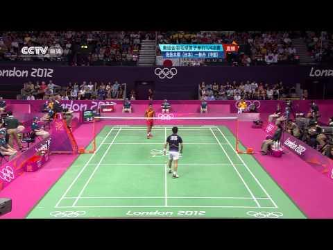 Thomas Cup 2010 Sho Sasaki vs Simon Santoso Mens Singles Semi Final 12/13 from YouTube · Duration:  4 minutes 55 seconds