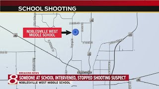 Noblesville school shooting - shooter in custody