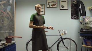 Реставрация велосипеда ХВЗ в-зз Спутник 1958 год.