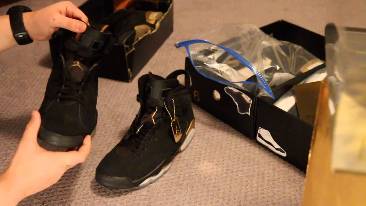 Next To Real Retro S Fake Retro S: Authentic Vs Fake Comparison: DMP Jordan VI 6 Retro