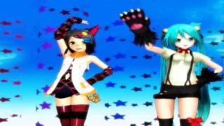 [MMD] Nekomimi Switch Kamui kitano & Neko Miku